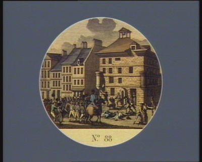 N.o 88 2 au 6 septembre. Massacres dans les prisons de Paris... : [estampe]