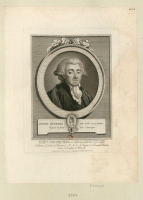 Pierre Hébrard de Fau, citoyen d'Aurillac député du Haut Païs d'Auvergne : [estampe]