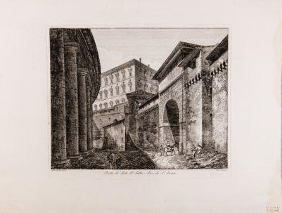 Arco di S. Anna e corridore di Alessandro VI