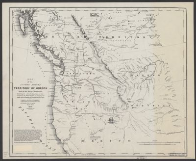 Map Of The Inland Empire In Washington Oregon Montana Idaho And