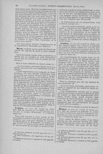 Tome 65 : Du 17 mai au 2 juin 1793 - page 48