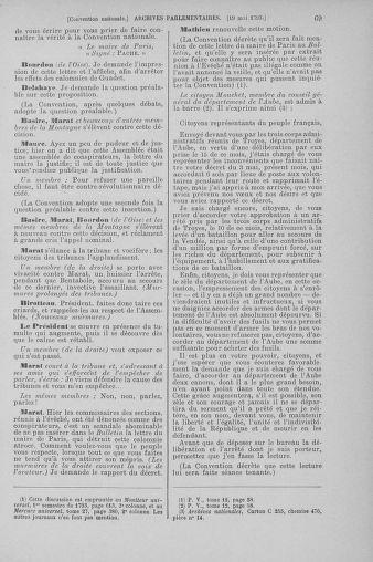 Tome 65 : Du 17 mai au 2 juin 1793 - page 69
