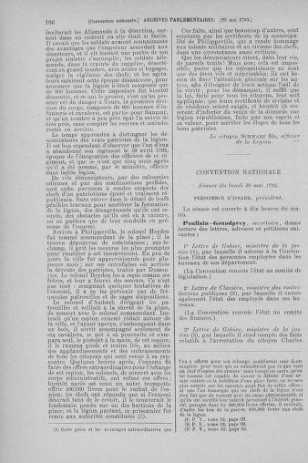 Tome 65 : Du 17 mai au 2 juin 1793 - page 106