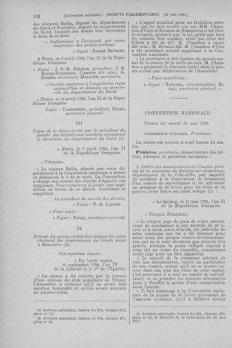 Tome 65 : Du 17 mai au 2 juin 1793 - page 132