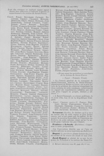 Tome 65 : Du 17 mai au 2 juin 1793 - page 137