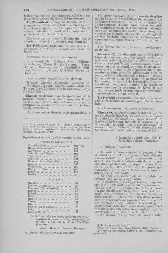 Tome 65 : Du 17 mai au 2 juin 1793 - page 138