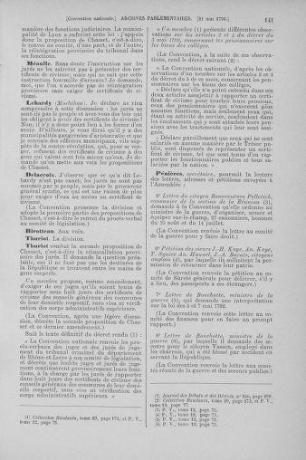 Tome 65 : Du 17 mai au 2 juin 1793 - page 141