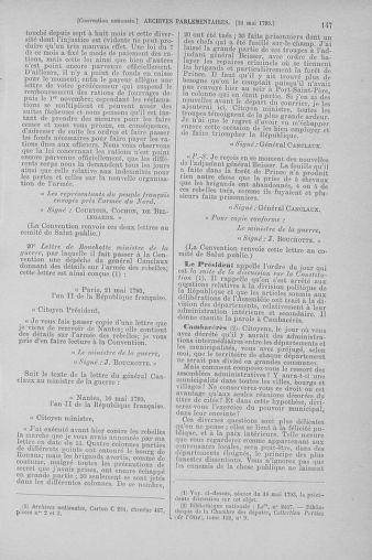Tome 65 : Du 17 mai au 2 juin 1793 - page 147