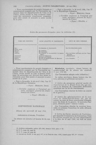 Tome 65 : Du 17 mai au 2 juin 1793 - page 168