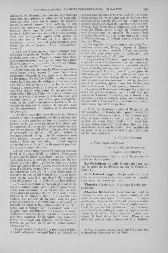 Tome 65 : Du 17 mai au 2 juin 1793 - page 189