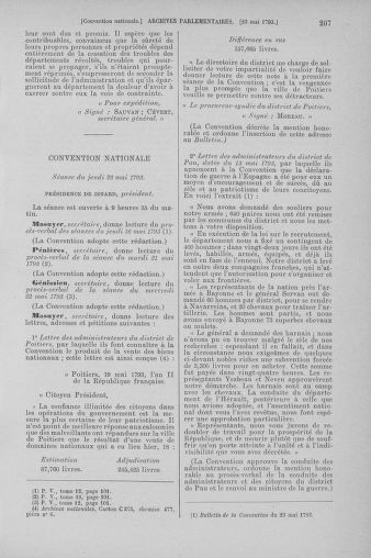 Tome 65 : Du 17 mai au 2 juin 1793 - page 207