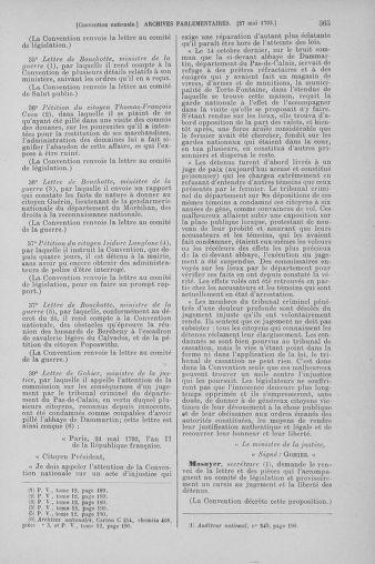 Tome 65 : Du 17 mai au 2 juin 1793 - page 365