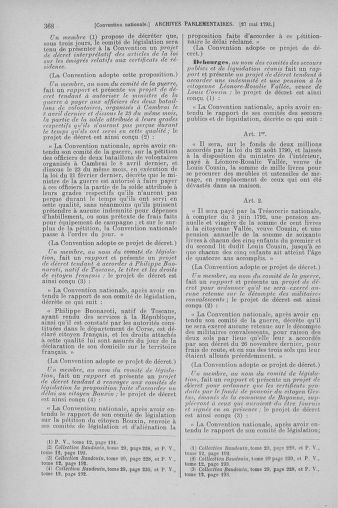 Tome 65 : Du 17 mai au 2 juin 1793 - page 368