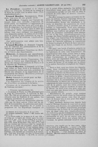 Tome 65 : Du 17 mai au 2 juin 1793 - page 389