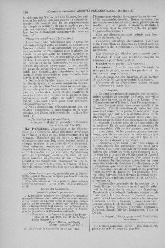 Tome 65 : Du 17 mai au 2 juin 1793 - page 390
