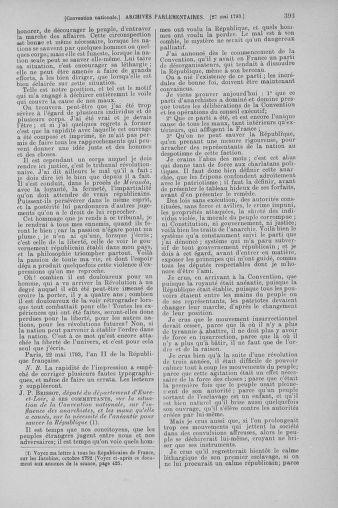 Tome 65 : Du 17 mai au 2 juin 1793 - page 393