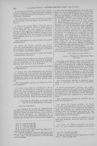 Tome 65 : Du 17 mai au 2 juin 1793 - page 484