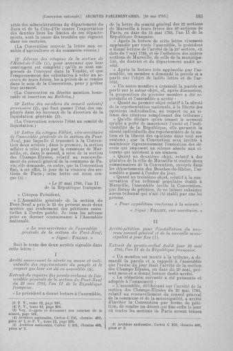 Tome 65 : Du 17 mai au 2 juin 1793 - page 485