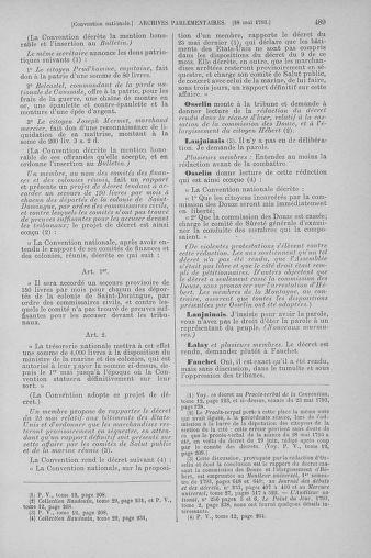 Tome 65 : Du 17 mai au 2 juin 1793 - page 489