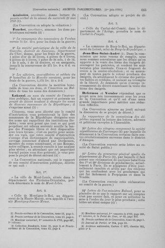 Tome 65 : Du 17 mai au 2 juin 1793 - page 665