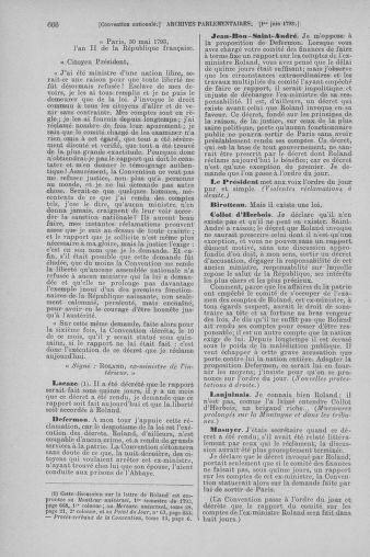 Tome 65 : Du 17 mai au 2 juin 1793 - page 666