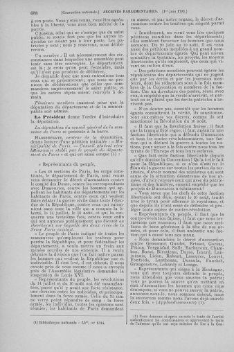 Tome 65 : Du 17 mai au 2 juin 1793 - page 688
