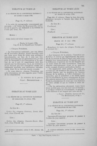 Tome 65 : Du 17 mai au 2 juin 1793 - page 791