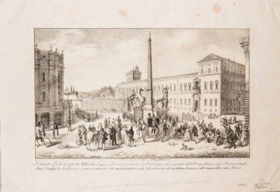 Palazzo Pontificio e piazza antistante