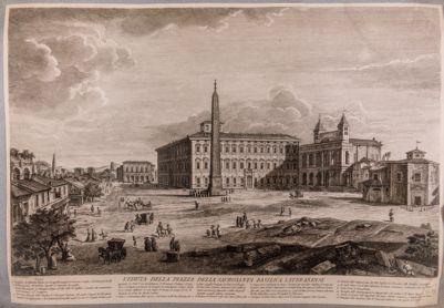 Palazzo Laterano e piazza S. Giovanni in Laterano