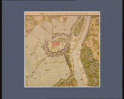 Siège de l'Ecluse par l'armée française en 1794 [dessin]
