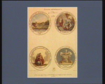 Etats généraux 4 mai 1789 [estampe]