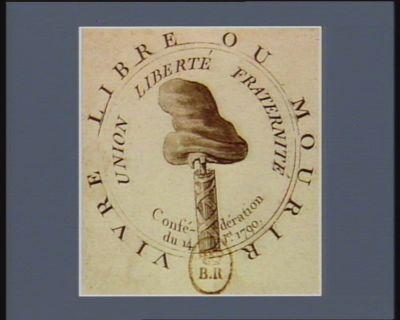 Vivre libre ou mourir union liberté fraternité conféderation du 14 j.et 1790 : [estampe]