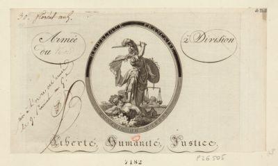 République française Conseil de guerre : [estampe]