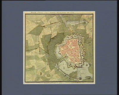 Siège d'Ypres par l'armée française en 1794 [dessin]
