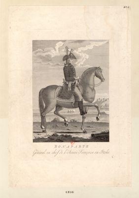 Bonaparte général en chef de l'armée françoise en Italie : [estampe]