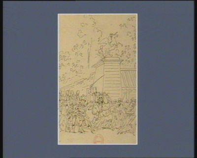 [Deuxième événement du douze juillet 1789] [dessin]