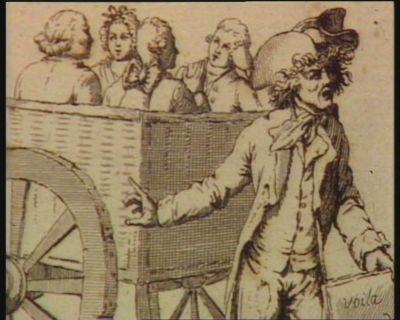 7.<em>e</em> plaie Le tribunal révolutionnaire. Un tribunal de sang alors lançoit la foudre Nobles, riches, savants, tout étoit mis en poudre : [estampe]
