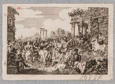 Tempio di Antonino e Faustina, fiancata del pronao verso levante