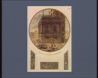 Vue de la Fontaine des Innocens [estampe]