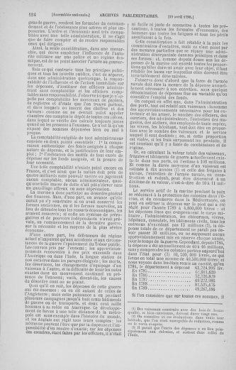 Tome 13 : Du 14 au 20 avril 1790 - page 124