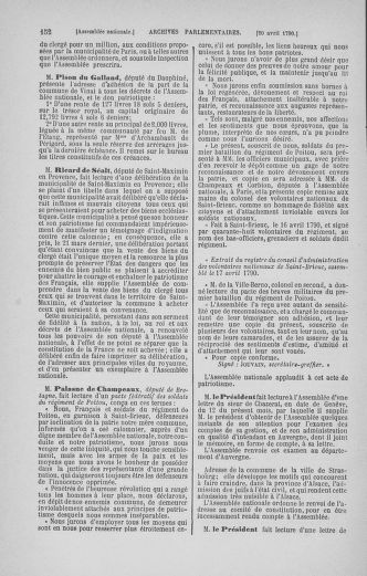 Tome 13 : Du 14 au 20 avril 1790 - page 152