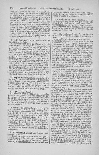 Tome 13 : Du 14 au 20 avril 1790 - page 154