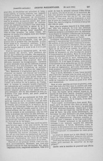 Tome 13 : Du 14 au 20 avril 1790 - page 167
