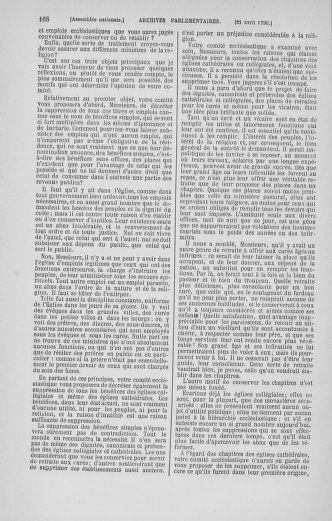Tome 13 : Du 14 au 20 avril 1790 - page 168