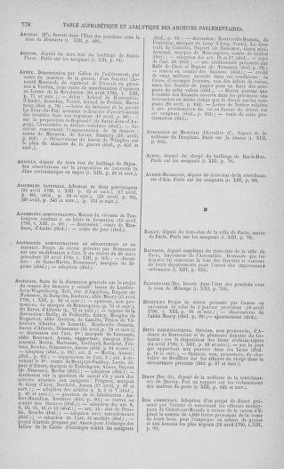Tome 13 : Du 14 au 20 avril 1790 - page 778