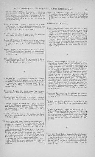 Tome 13 : Du 14 au 20 avril 1790 - page 781