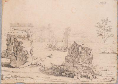 Palatino, resti della Domus Tiberiana