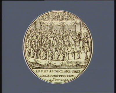Le  Roi se déclare chef de la Constitution 4 fevr. 1790 : [estampe]