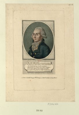 M. Le Grand avocat du Roi au baillage de Château-roux, député du Berri à l'Assemblée nationale... : [estampe]