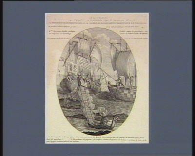 La  Métamorphose de Pierre en pape, ou le pecheur de goujons devenu harponneur de baleines [estampe]
